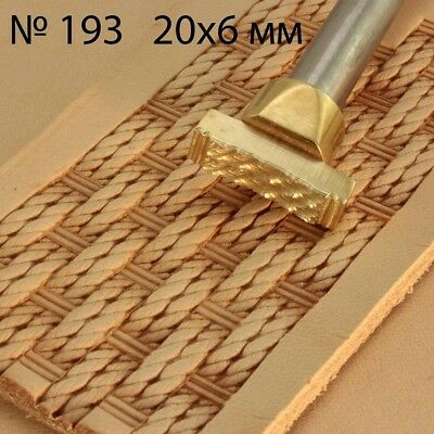 Leather stamp stamping crafting tool for leather crafts brass stamps #193