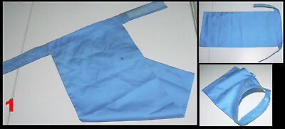C 1 (One) x United Nations blue breastplate / scarf for UN peacekeeper