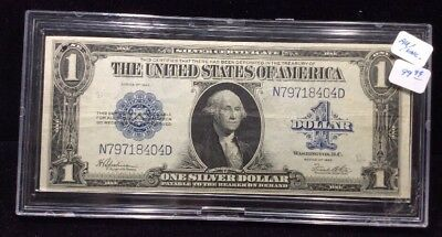 1923 $1 Large Size Silver Certificate Fr 237 Horse Blanket in AU Condition