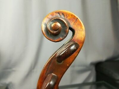 Beautiful Old Violin DOMINICUS MONTAGNANA 1750 Good  35,6