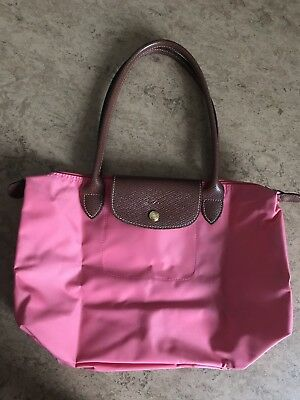 ORIGINAL LONGCHAMP Le Pliage Nylon Shopper L in olive NEU