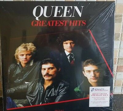 QUEEN Greatest Hits 180gm Vinyl LP REMASTERED NEW & SEALED Sent1st class sign 4