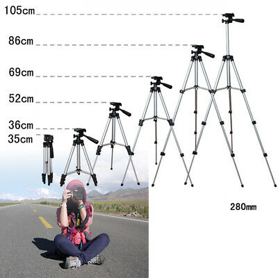 Cavalletto Treppiede Telescopico per Smartphone Maniglia 4-section Tripod Stand