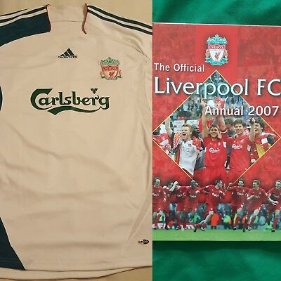 ab6fc0226 Liverpool FC Adidas European Away Shirt - Large - 06-07   Official 2007  Annual