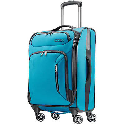 """American Tourister Zoom 21"""" Expandable Carry-On Spinner Luggage #92406"""