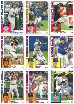 2019 Topps Series 1 1984 Topps ***Complete Your Set*** - $1.49