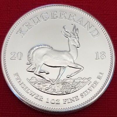 2018 South Africa Silver Krugerrand 1 oz 1 Rand - BU
