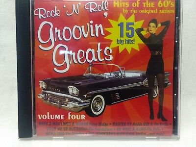 Rock N Roll Groovin Greats 15 Grandes Hits Of The 18.3ms 1996 Vol.4 cd6531