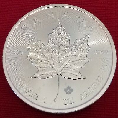 2015 1 oz Canadian Silver Maple Leaf -- Brilliant Uncirculated
