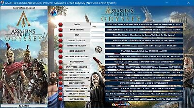 ASSASSIN'S CREED ODYSSEY (Ver 1 5 0) Cheats Software (Free Updates Lifetime)