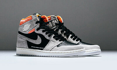 best sneakers 27e21 e58ca NIKE AIR JORDAN 1 Retro High Hyper Crimson (Neutral grau) EU 44 ...  Ausverkaufspreis 85b458