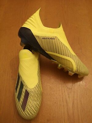 c1f6ada7a811 ADIDAS X 18+ Laceless Football Boots Size 9 soccer pro boots ...