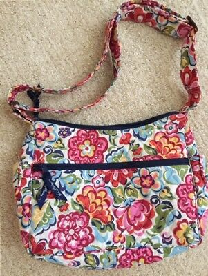 ff8a9eb8db NWT VERA BRADLEY Quilted On The Go Hobo Shoulder Bag Purse Floral ...