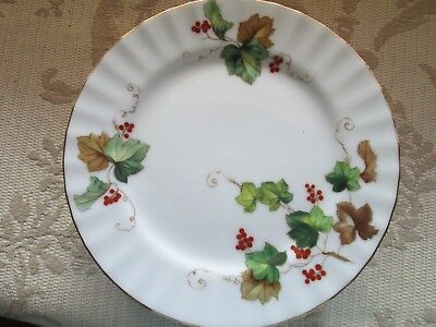 """Harmony House """"Autumn"""" Bread and Butter Plates Set of 6 Made in Occupied Japan"""