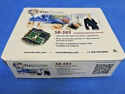 NEW Keri Systems SB-593 Satellite Expansion Board PXL Tiger Access Control / BOX
