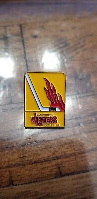 WHA Vancouver Blazers Hockey Club Vintage Defunct Team Logo Hockey Lapel Pin