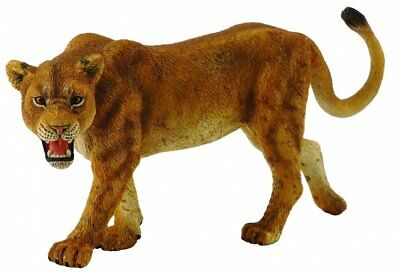 CollectA Wildlife Lioness Toy Figure - Authentic Hand Painted Model #88415 Lion