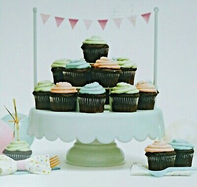 American Crafts Sweet Tooth Fairy Magic Sweet Cake Stand Green 12 Pieces