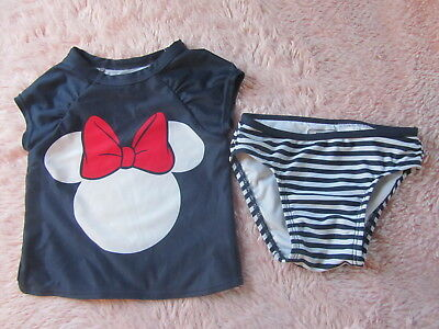 d28da03770694 Old navy 12-18 months Minnie Mouse Swimsuit EUC disney surf girls bathing  12 18