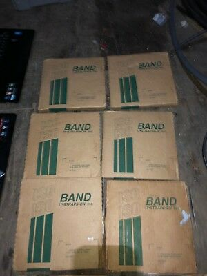 "IT.STRAPS.ON Stainless Steel Banding Strap 1/2"" x 100 Lot of 5"