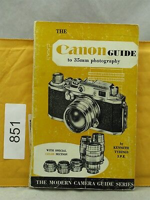 Tyding's Guide to Canon Rangefinder Cameras, Modern Camera Guide 1956 128 Pages