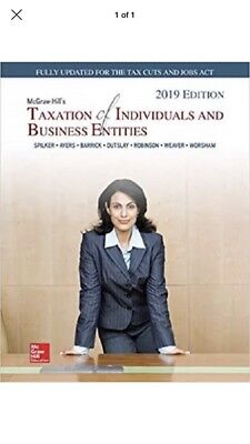 Mcgraw-hill's Taxation of Individuals and Business Entities 2019 Edition [eREAD]