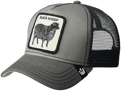 946858a6 Goorin Bros. Men's Animal Farm Snap Back Trucker Hat, Gray Sheep, One Size