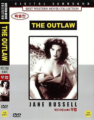 The Outlaw (1943)  Jack Buetel / Jane Russell / Walter Huston DVD NEW *FAST SHIP