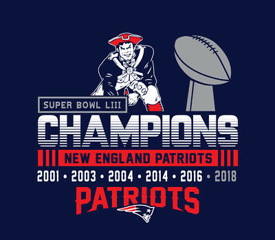 New England Patriots Super Bowl Champions shirt Tom Brady GOAT  Superbowl LIII