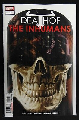 Death of the Inhumans #1, NM, First Print, !!!Cates!!! Marvel Comics, 2018