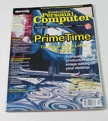 Australian Personal Computer (APC) Magazine (1 Issue from September 1998)