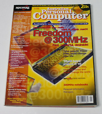 Australian Personal Computer (APC) Magazine (1 Issue from January 1999)