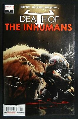 Death of the Inhumans #5, NM, First Print, !!!Cates!!! Marvel Comics, 2018
