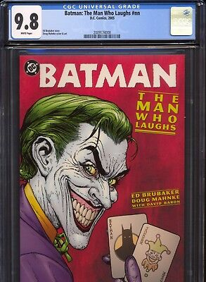 Batman: The Man Who Laughs (2005) ~ 1st Print ~ Ed Brubaker ~ CGC 9.8