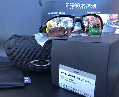 9aa8fed391 OAKLEY Flak Jacket 2.0 XL OO9188-9059 Matte Black w Prizm Dark Golf  Sunglasses