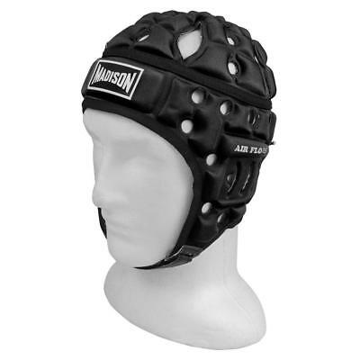 Air Flo Headguard in Black from Madison for Rugby League and Union