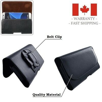 Leather Holster Case with Belt Clip for iPhone 8 7 6 Plus