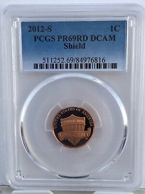 2012-S Lincoln Proof PCGS PR69RD DCAM  Shipping $$ on First Coin Only