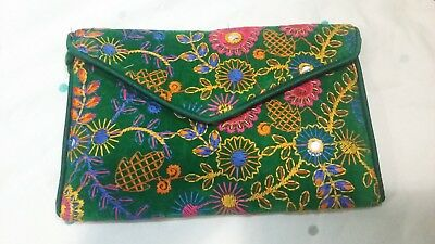 Traditional Hand Made Colorful Clutch Bags Purse