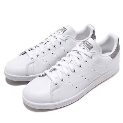 online store d5d9d 7c526 adidas Originals Stan Smith White Grey Men Classic Casual Shoes Sneakers  B41470
