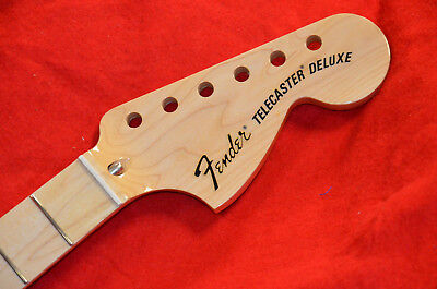 Fender Telecaster Deluxe Vintage 3-Bolt Neck*Fits 1972-79 Strat*Hard To Find*New