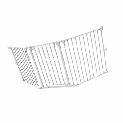 Perma Playpen, Play Yard & Baby Gate Extension, White