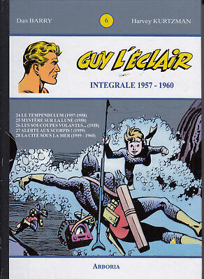 Guy l'éclair  integrale tome 6   1957-1960