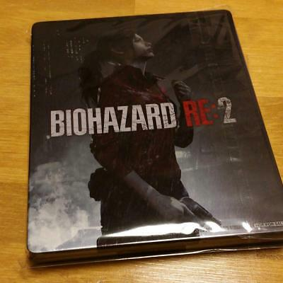 BIOHAZARD RE:2 resident evil GEO Special Steel Book Case only