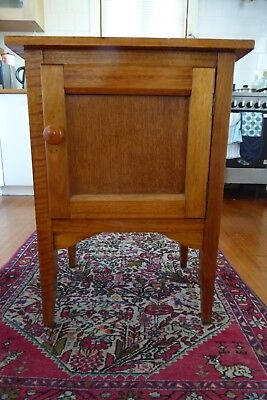 Lovely Vintage Timber bedside table/hall cabinet