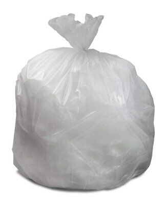"Can Liners 30"" x 36"". Roll of 50 Low Density Clear Trash Bags. 20-30 Gallon."
