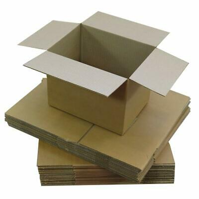 "6"" x 5"" x 4"" Postal Mailing Cardboard Boxes Single Walled - Multi Listing"