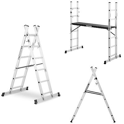 Aluminium Scaffold Ladders Multi-Purpose Ladders A-Frame Leaning Scaffolding