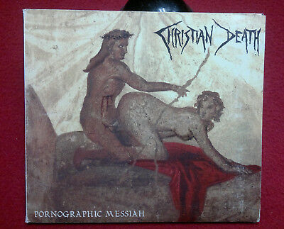 CHRISTIAN DEATH PORNOGRAPHY MESSIAH 1998 UK CD DigiFile industrial goth-metal