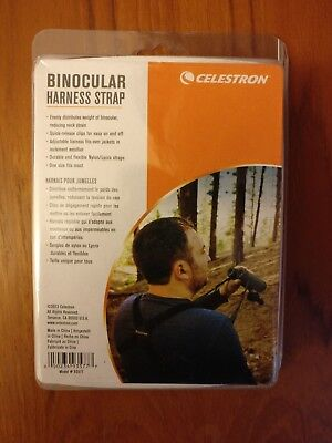 Celestron Nylon/Lycra Harness Strap For Binoculars Black